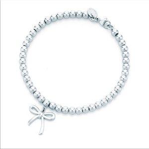 Tiffany & Co. Mini Bow Beaded Bracelet